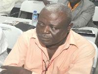 Kofi Manu is a football administrator