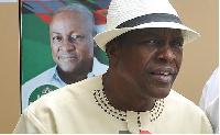 Second deputy Speaker of Parliament Alban Kingsford Sumani Bagbin