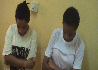 The two convicts are to serve a five years jail term for human trafficking