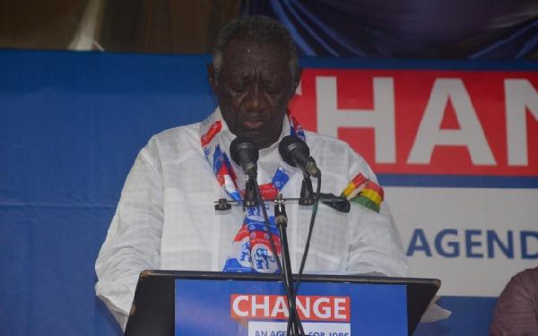 Former President John Agyekum Kufour