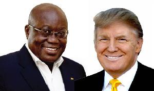 Nana Addo Trump