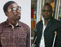 Daasebre Gyamenah(L) - Frank Mensah Pozo(R)