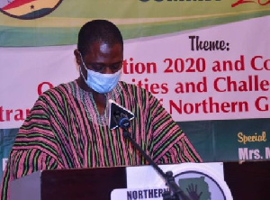 Dr. Alhassan Sulemana Anamzoya, Chief Executive Officer of Northern Development Authority (NDA)