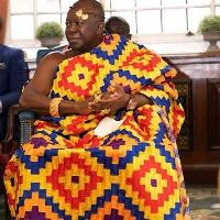The life patron of Asante Kotoko, Otumfuo Osei Tutu