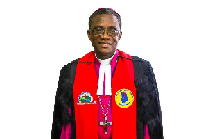 Bishop of the Northern Accra Diocese of the Church, Rt. Rev. Joseph Edusa-Eyison