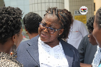 DSP Gifty Tehoda, the police woman who was wrongfully dismissed from the Police Service in 2012