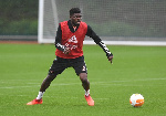 Thomas Partey is 'really pushing' to recover from his thigh injury- Mikel Arteta