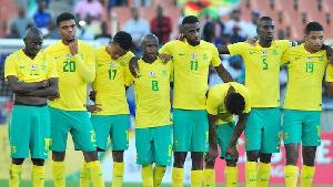 South Africa's Bafana Bafana squad