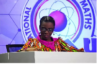 Dr. Elsie Effah Kaufmann is Quiz Mistress for the  National Science and Maths Quiz