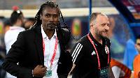 Senegal coach Aliou Cisse (Left) and Algeria coach Jamel Belmadi will face off in the AFCON final