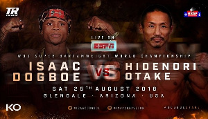 Dogboe will defend his title against Hidenori Otake on August 25