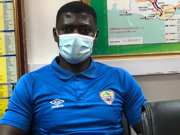 New Hearts of Oak coach Samuel Boadu tasked to win double in second year