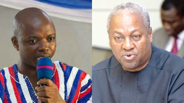 I\'ll pull more crowd in Bono region than Mahama - Abronye DC