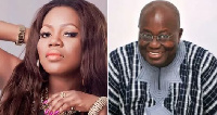 Mzbel has revealed she is mostly mesmerized by the voice of Ghana's president Nana Addo
