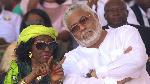 'Jealous' Nana Konadu saw Rawlings' comrades as 'rivals' - Prof Ahwoi