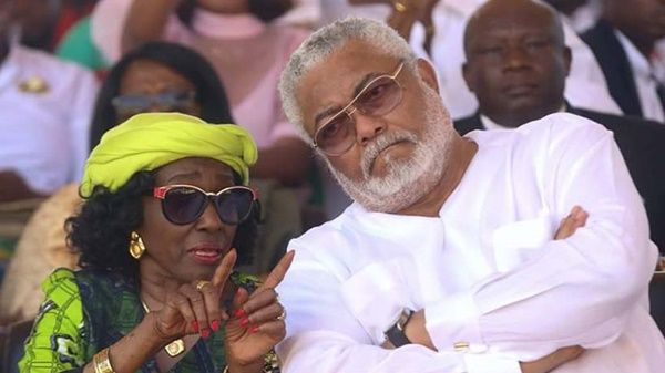 'Jealous' Nana Konadu saw Rawlings' comrades as 'rivals' - Prof Ahwoi