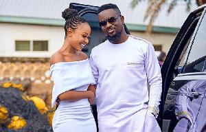 Actress Akuapem Poloo and rapper Sarkodie