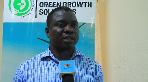 Deputy Director at Climate Change Department of NADMO, Frank Aggrey
