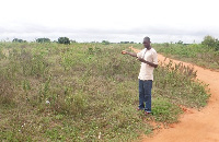 The proposed site at Kasseh for the Ada East Community Day SHS