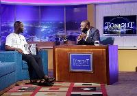Adjetey Annan and Nii Kpakpo Thompson on 'Tonight'