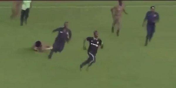 Pitch invader in Ghana-South Africa game a nurse and 400-metre runner