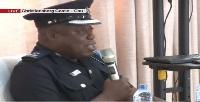 Accra Operations Commander, Ghana Police Service Supt. Kwesi Ofori