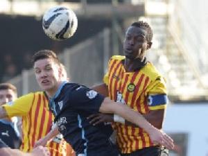 Abdul Osman Seidu in action