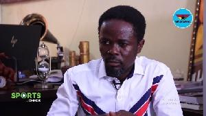 Dan Kwaku Yeboah is the spokesperson for the GFA Normalization Committee