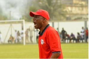WAFA coach  Prosper Narteh