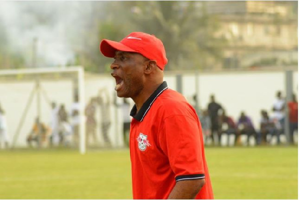 WAFA Coach slams referee Maxwell Owusu for Liberty defeat