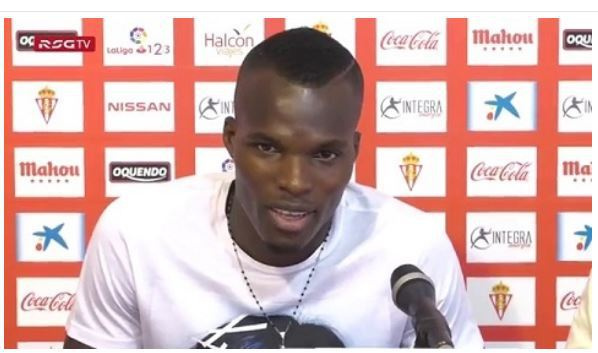 Ghanaian midfielder Isaac Coffie