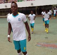 Richard Arthur won the Ghana Premier League with Wa All Stars in 2015