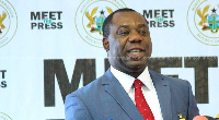 Dr Mathew Opoku Prempeh aka 'Napo,  MP for Manhyia South Constituency