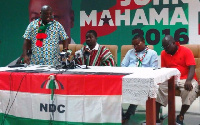 Some NDC members rebuked violent attacks on their supporters at a press conference