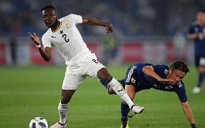 Attamah Larweh was part of Ghana's team for the friendlies against Mali and Qatar