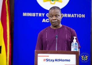 Director-General of the Ghana Health Service, Dr Patrick Kuma-Aboagye