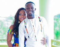 James Kotei  with his wife