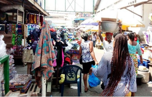 80 per cent of people in Makola not in nose mask – Market Queen