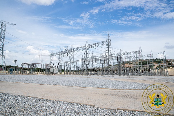 Electricity Demand: Ghana\'s largest Bulk Supply Point commissioned at Pokuase