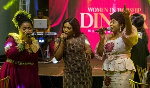 Jayana performed with veterans Mary Ghansah and Tagoe Sisters at the dinner
