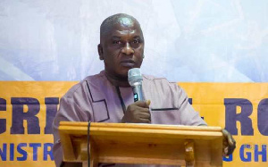 Acting Chief Director of the Local Government Service, Mr. James Oppong-Mensah
