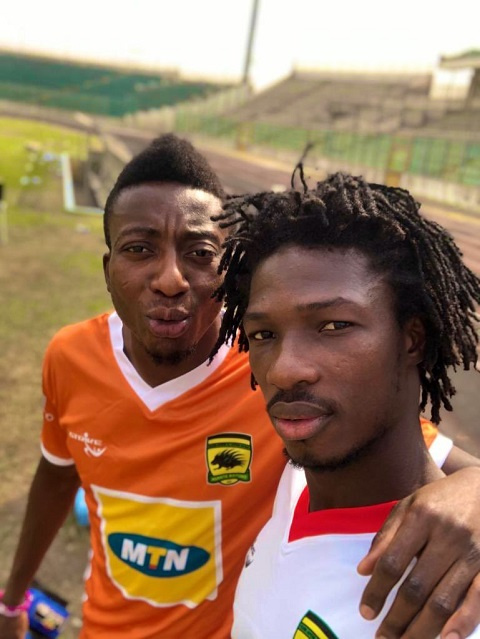 Annan has offered support to his teammate Sogne Yacouba