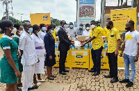 MTN Ghana Foundation is donating over 88,000 KN95 face masks to regional health workers in Ghana
