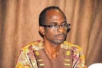 Johnson Asiedu Nketiah, NDC Gen. Sec.