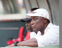 Bashir Hayford, coach of Ebusua Dwarfs