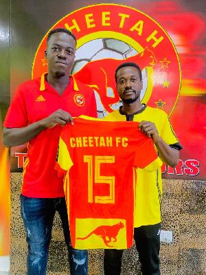 Abdulai Slimba signs for Cheetah FC