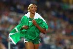 Nigerian athlete Blessing Okagbare