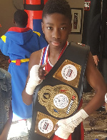 Joseph Awinongya Jnr, Us-based Ghanaian boxer
