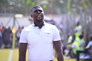 Samuel Boadu promises to work extra hard for Hearts of Oak