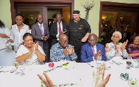 President Nana Addo Dankwa Akufo-Addo is celebrating his 74th birthday